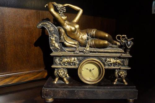 Table Clock For Mantel