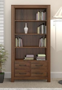 There is arguably no other type of wood that is as flexible to decorate your living room spaces as walnut.