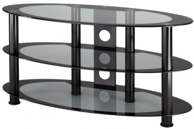 Another trend among curved television consoles features consoles that are made primarily of glass .