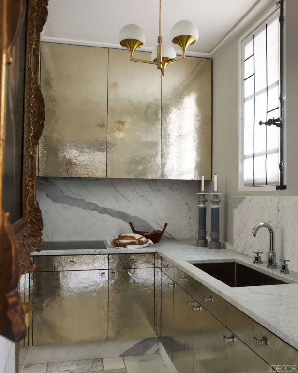 Warm metals are neutral by design, meaning you can mix-and-match most warm metals