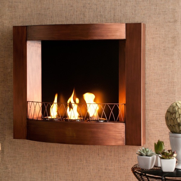 Nothing brings out the beauty of a fireplace quite like copper.