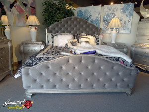 Christian Grey's bed in 50 Shades of Grey