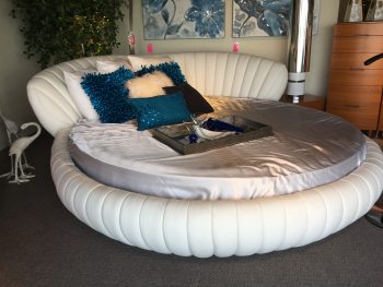 romantic round bed for bedroom